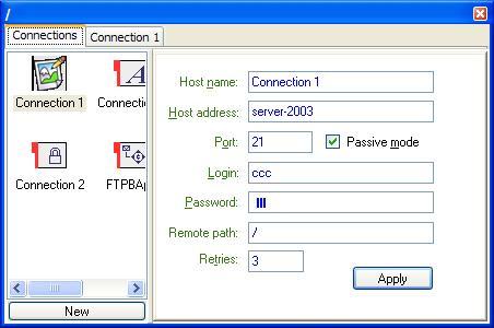 Full FTPBasket screenshot