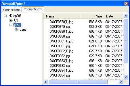 FTPBasket screenshot